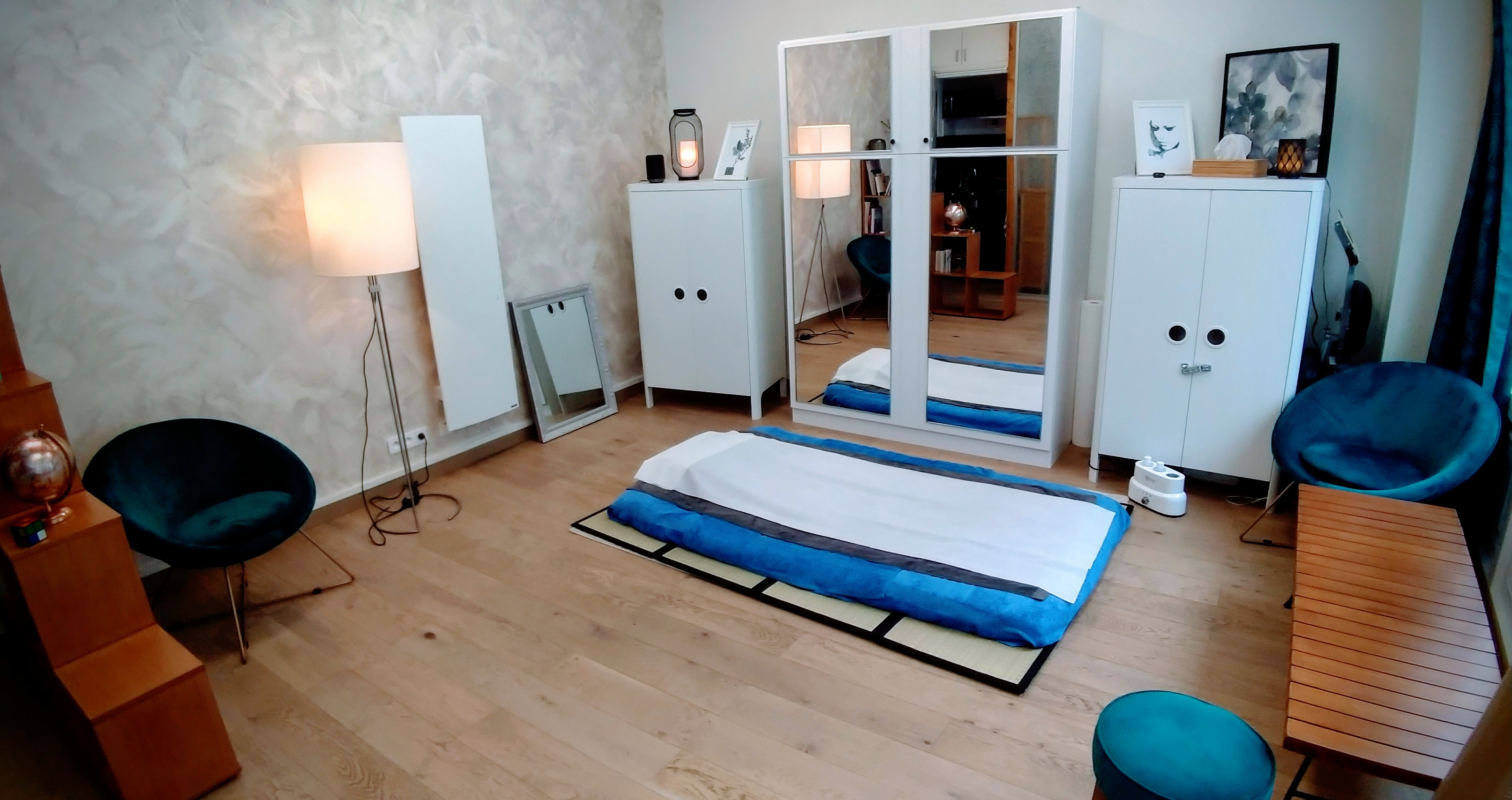 massage futon Paris 15